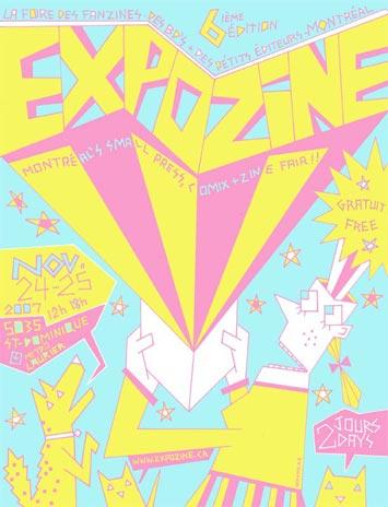 Expozine flyer